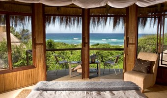 Thonga Beach Lodge Uitzicht