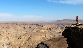 Uitzicht Over Fish River Canyon