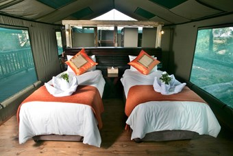 Moremi Crossing Luxe Tent
