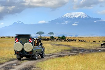 Safari In Amboseli