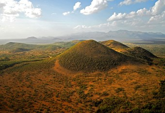 Uitzicht Over Tsavo National Park
