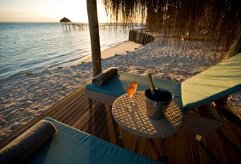 Dugong Lodge Chalet Prive Terras