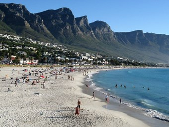 Camps Bay In Kaapstad