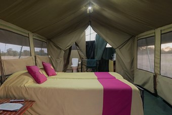 Tent Bij Serengeti View Camp