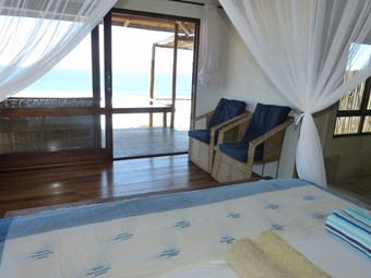 Kamer bij Blue Footprints Eco Lodge