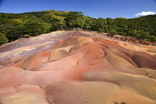 Chamarel Coloured Earths, Mauritius